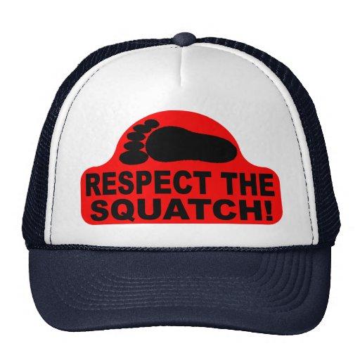 RESPECTEZ LE SQUATCH !  Ressemblez à un PRO en Bob Casquettes De Camionneur