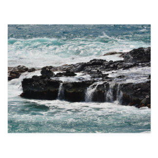 Ressacs dans Kauai Carte Postale