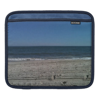 Ressacs sur le coque ipad de photo de plage