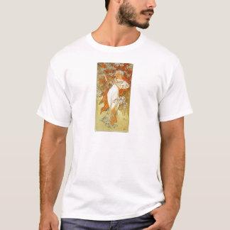 Ressort par Alphonse Mucha T-shirt
