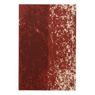 résumé brun impression sur bois