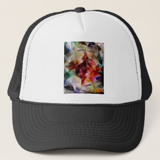 Résumé géométrique coloré casquette