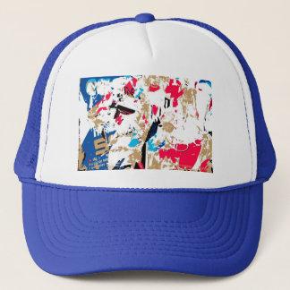 Résumé, texture colorée casquette