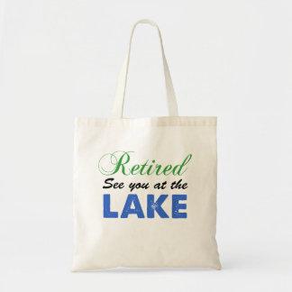 Retiré voyez-vous au sac fourre-tout à lac