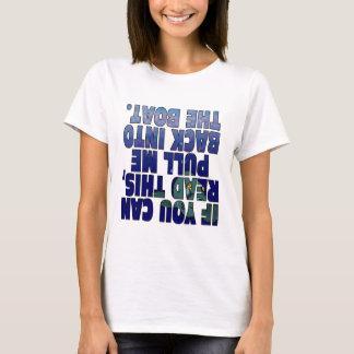 Retirez-moi dans le bateau (les poissons) t-shirt