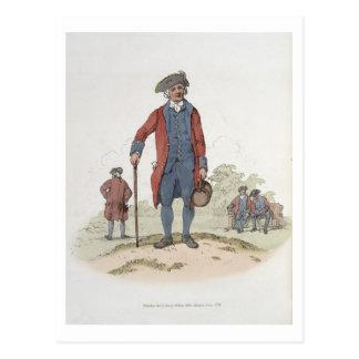 Retraité de Chelsea, de 'costume de Great Britain Cartes Postales