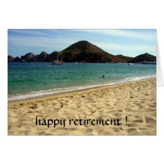 retraite de plage carte