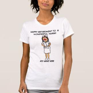 Retraite d'infirmière t-shirt