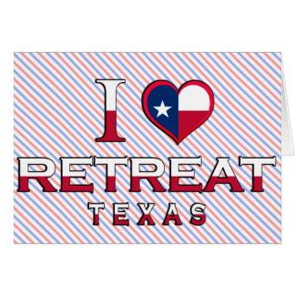 Retraite, le Texas Carte De Vœux