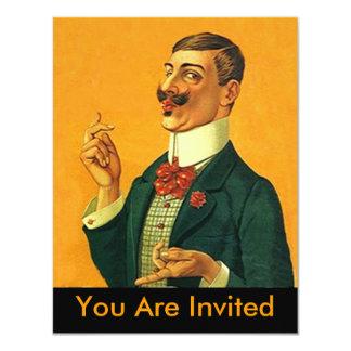 Retraite pimpante pointue d'invitation de partie carton d'invitation 10,79 cm x 13,97 cm