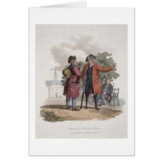 Retraités de Chelsea, cavalerie et infanterie, de Carte De Vœux