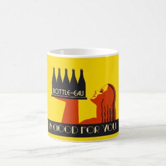 rétro art déco du style Bouteille-UCE Mug