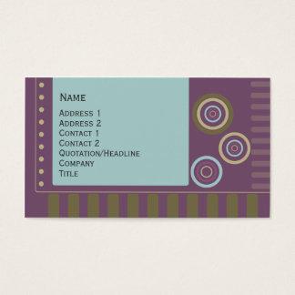Rétro conception cartes de visite