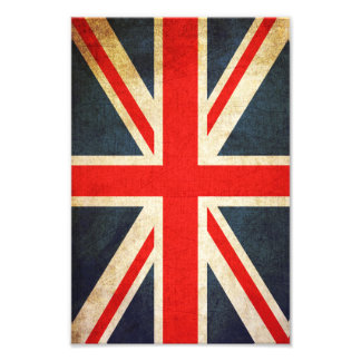 Rétro copie britannique de photo de drapeau