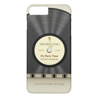 Rétro disque classique de LP de vinyle Coque iPhone 7 Plus