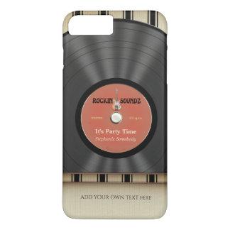 Rétro disque de LP de vinyle de roche Coque iPhone 7 Plus