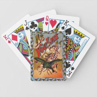 Rétro étiquette de tabac a 1869 jeu de poker