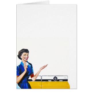 R tro femme au foyer cartes r tro femme au foyer cartons for Femme au foyer 1950