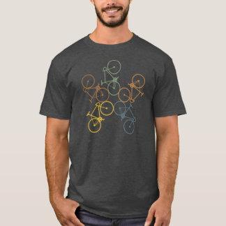 Retro fietst-shirt t shirt
