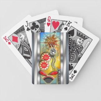 Rétro flipper drôle jeu de poker