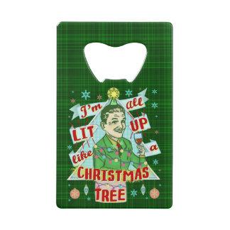 Rétro Lit potable d'homme d'humour de Noël drôle