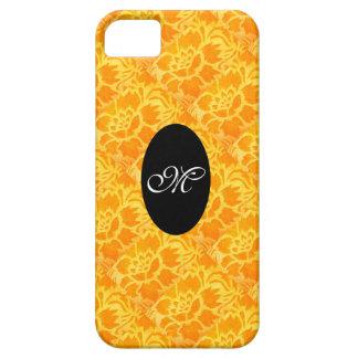 Rétro motif floral initial vintage Girly de Coques iPhone 5 Case-Mate