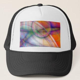 rétro pastell abstrait créé par Tutti Casquette