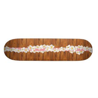 Rétro planche à roulettes hawaïenne plateau de skateboard