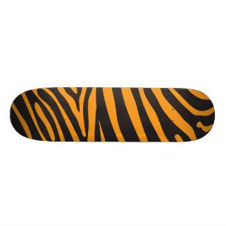 Rétro poster de animal orange skateboard old school 18,1 cm