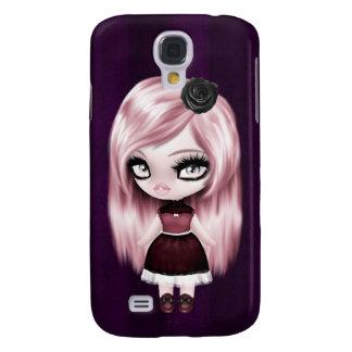 Rétro poupée gothique de Goth Coque Galaxy S4
