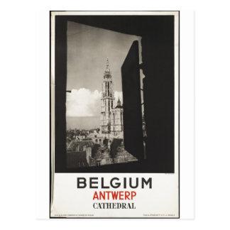 Retro Print van de vintage van de Reis Advertentie Briefkaart
