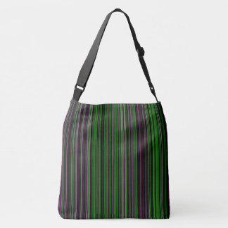 Rétro sac d'épaule pourpre de vert de chaux de