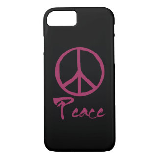 Rétro signe de paix coque iPhone 8/7