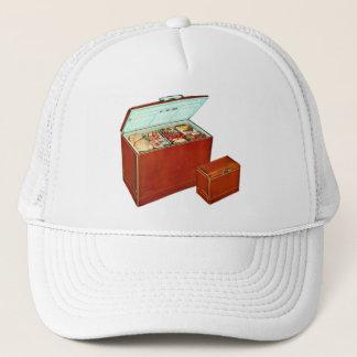 Rétro surgélateur vintage d'appareils de kitsch casquette