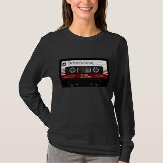 Rétro T-shirt audio d'enregistreur à cassettes de