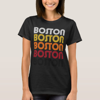 Rétro T-shirt de Boston