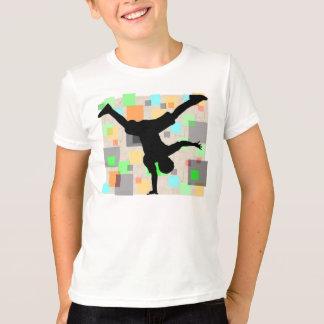Rétro T-shirt de danseur de coupure