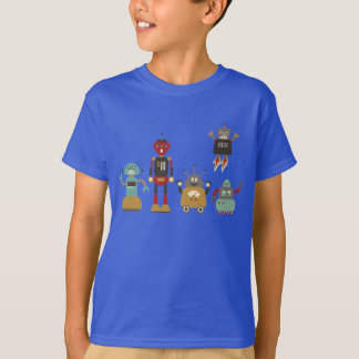 T-shirts robots sur Zazzle