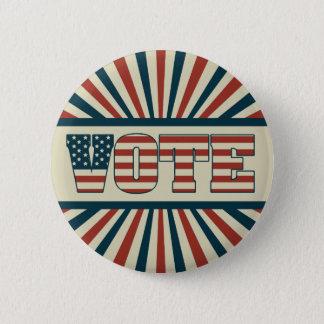 Rétro vitesse de vote badge rond 5 cm