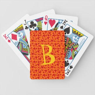 Rétros boomerangs personnalisables cartes à jouer