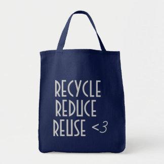 Réutilisez réduisent le sac de réutilisation