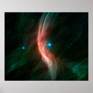 Reuze Zeta Ophiuchi van de Ster Poster