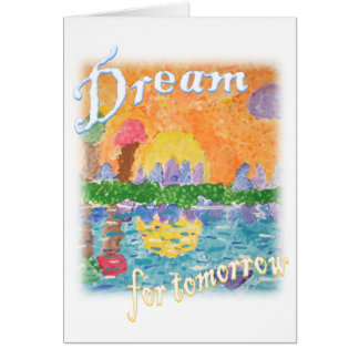 Rêve Carte De Correspondance