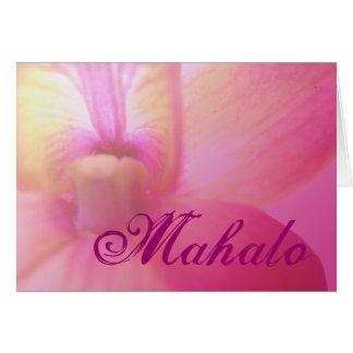Rêve d'orchidée carte de correspondance