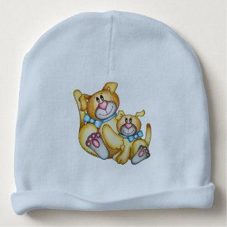 Réversible mignon de chien et de chat d'OSo Bonnet Pour Bébé