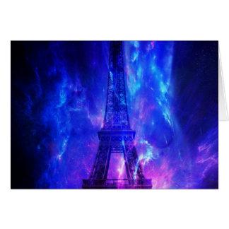 Rêves d'améthyste de Paris du ciel de la création Carte De Correspondance