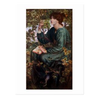 Rêves de jour par Rossetti Carte Postale