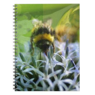 Rêves de l'abeille carnet à spirale