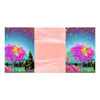 Rêves doux cartes de vœux avec photo