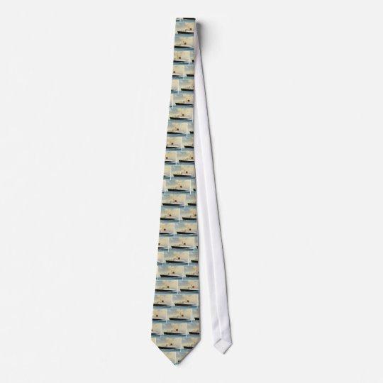 Revêtement d'océan vintage cravate